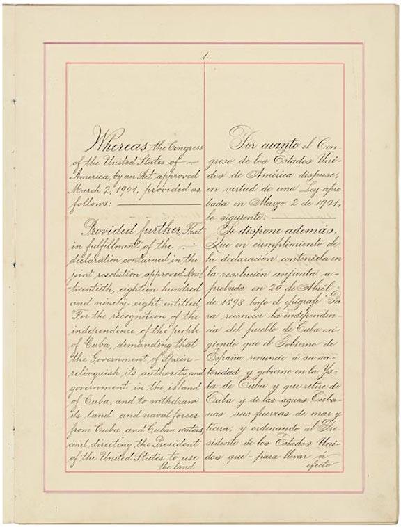 Platt Amendment (1903)