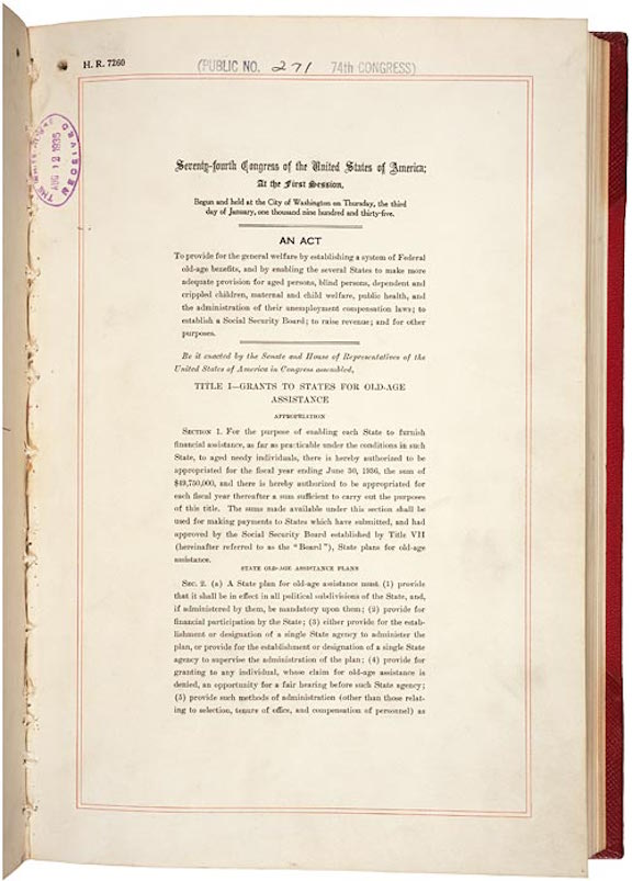 Social Security Act (1935)