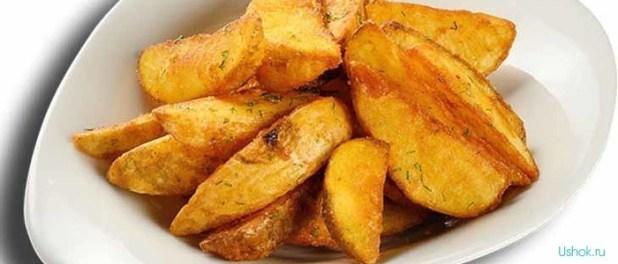 картошка айдахо в духовке