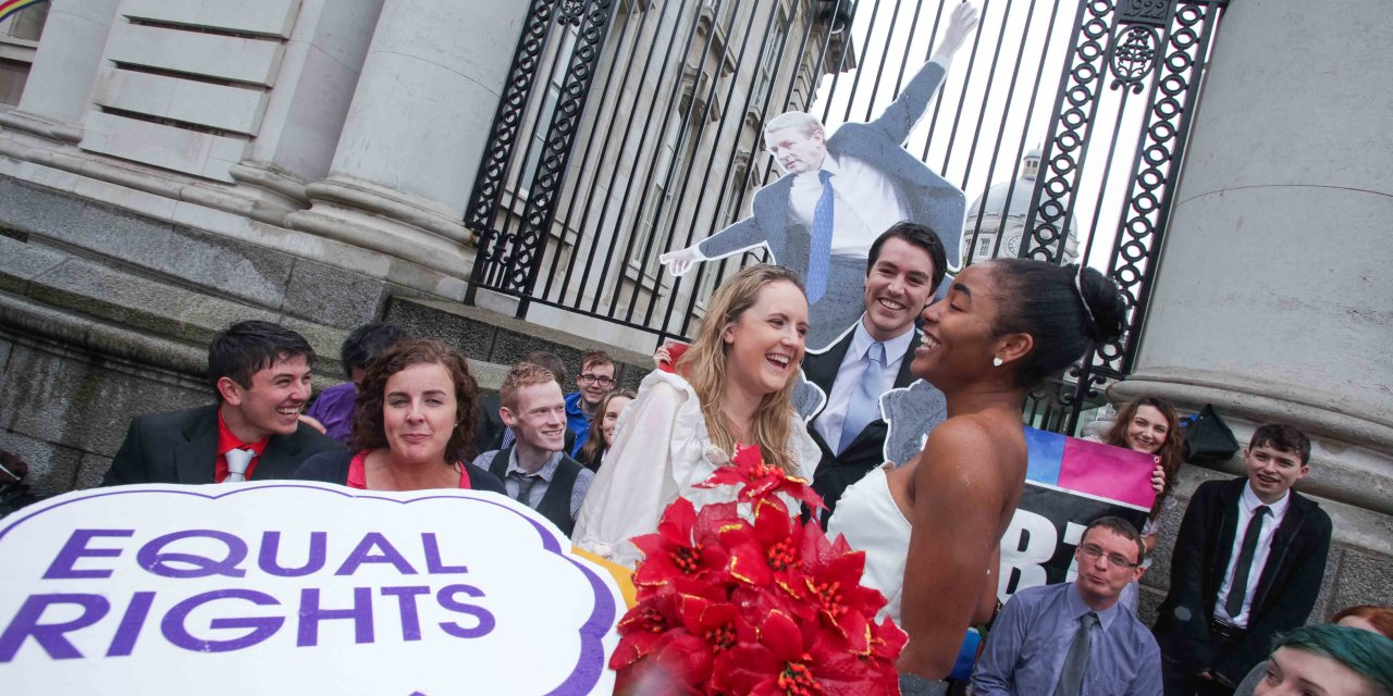 Students want marriage equality for LGBT people