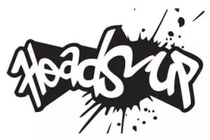 Heads Up Logo Monotone2