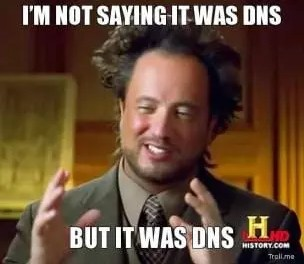 DNS failure takes USI Website offline
