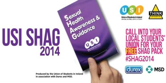 "USI launches SHAG campaign ""Whoever you like, love safer sex"""