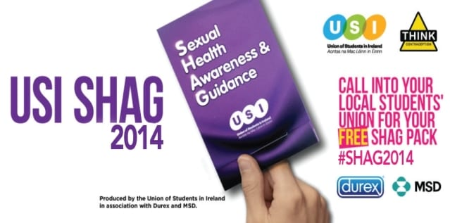 """USI launches SHAG campaign """"Whoever you like, love safer sex"""""""