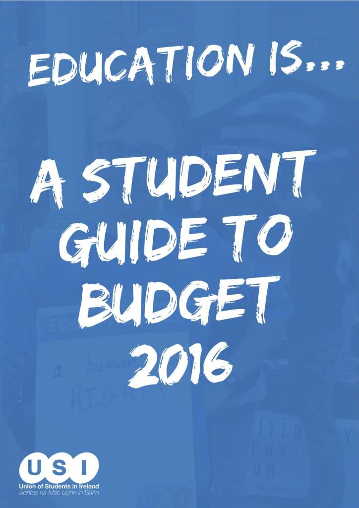 USI Student Guide to Budget 2016 (dragged)