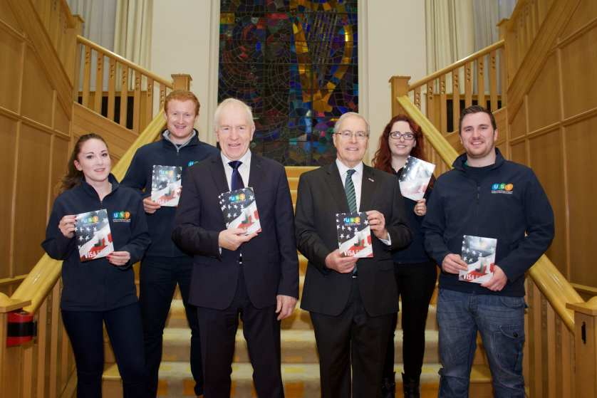 Leinster House USI J1 Guide Launch