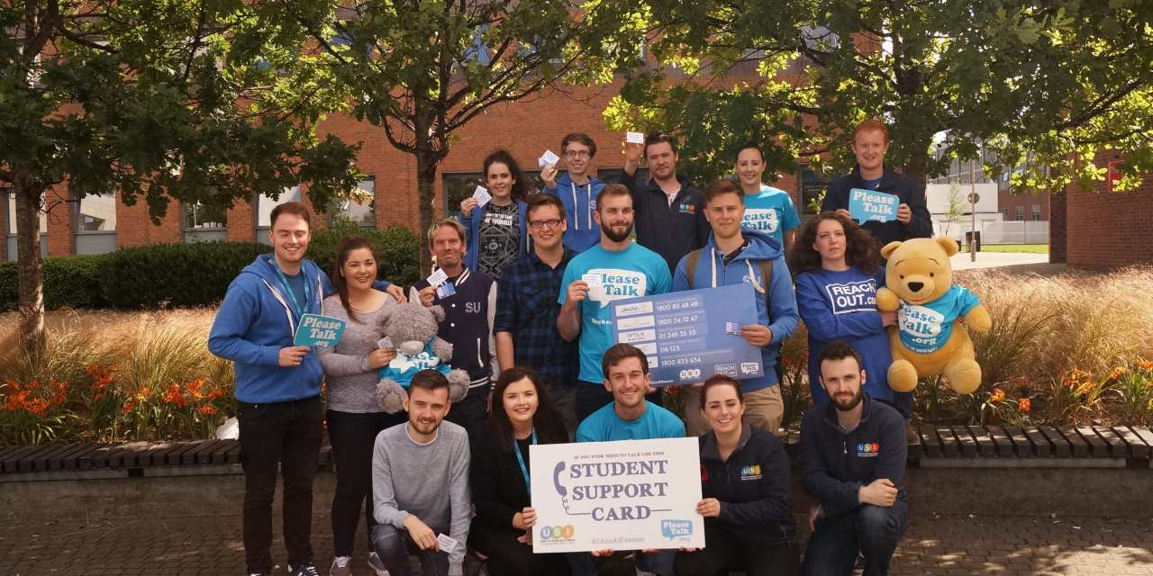 USI and PleaseTalk launch Student Support card ahead of Suicide Awareness Day