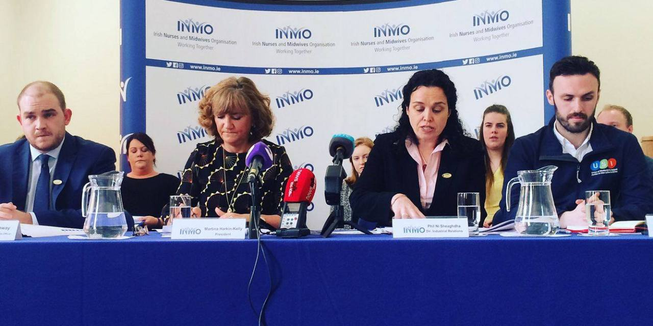 USI Commends INMO Research On Student Nurses Emigration
