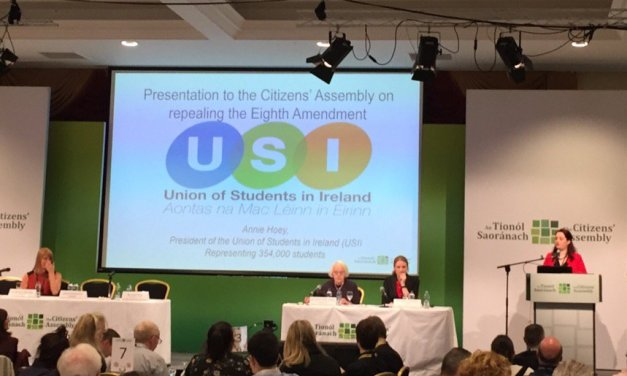 USI Prepares To Mobilise Students To Campaign To Repeal The Eighth Amendment