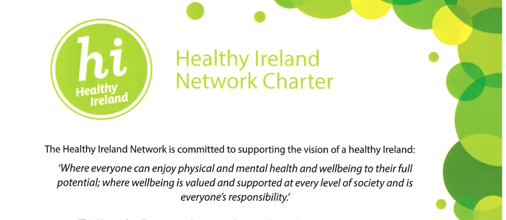 USI Joins The Healthy Ireland Network
