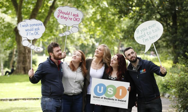 Minister McEntee launches National Student Mental Health Campaign with USI
