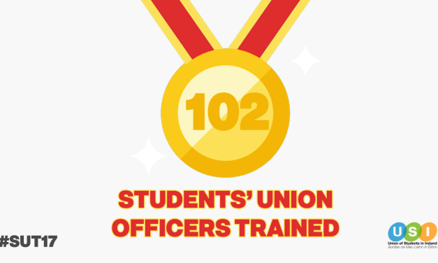 102 Students' Union Officers Trained
