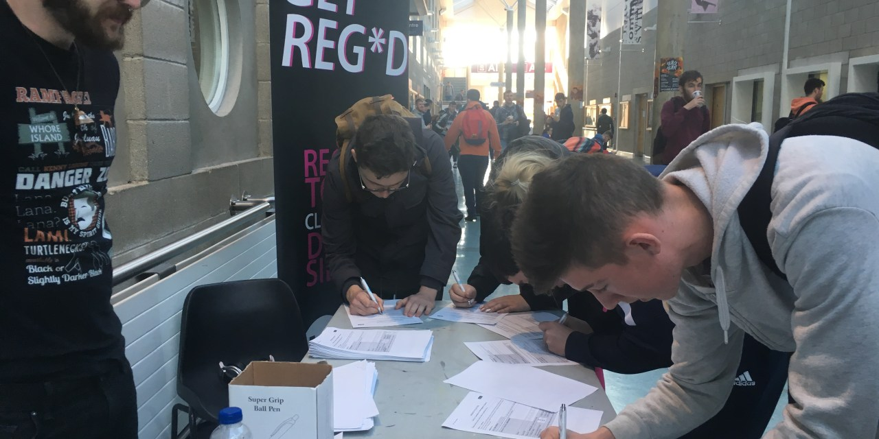 USI Pledges To Register Thousands Of Students To Vote
