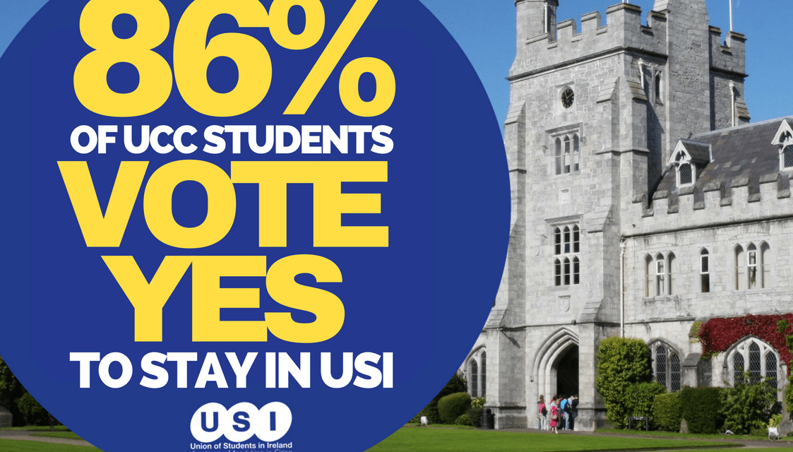 86% Of UCC Students Say Yes To USI