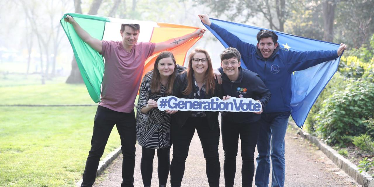 Students and Youth Organisations Launch #GenerationVote Campaign, Pledging to Register to Vote Before May 7th