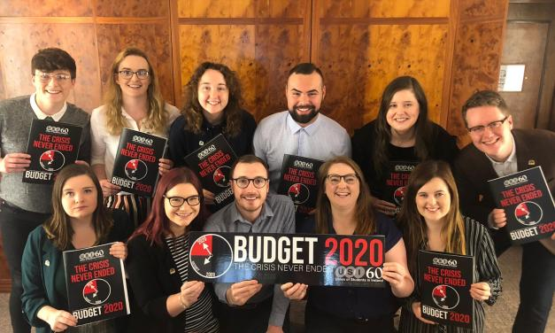 Budget 2020 Does Not Reflect Student Needs