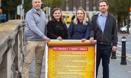 USI & SIPTU Launch Charter for Postgraduates