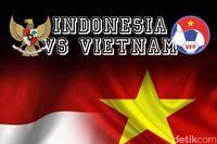 Jelang Laga Indonesia vs Vietnam, #TimnasDay Bergema
