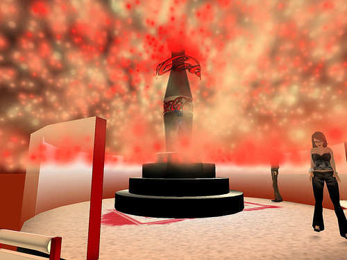 Two people seen at once in Second Life shock (both work foragency)