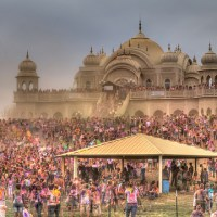 The World's Largest Holi Celebration Ever was in Utah