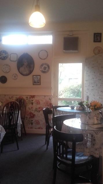 Clarinda's tea room.