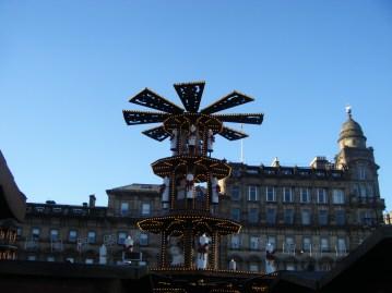 Glasgow Christmas Market.