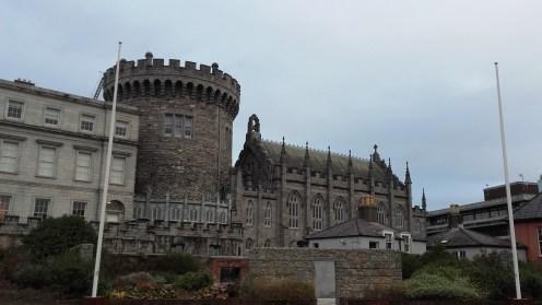 Dublin castle. Quite different from Edinburgh castle, isn't it?