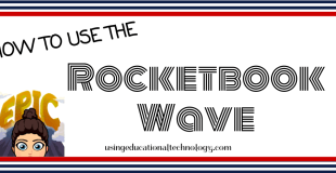 Rocketbook Wave Notebook – WOW!!