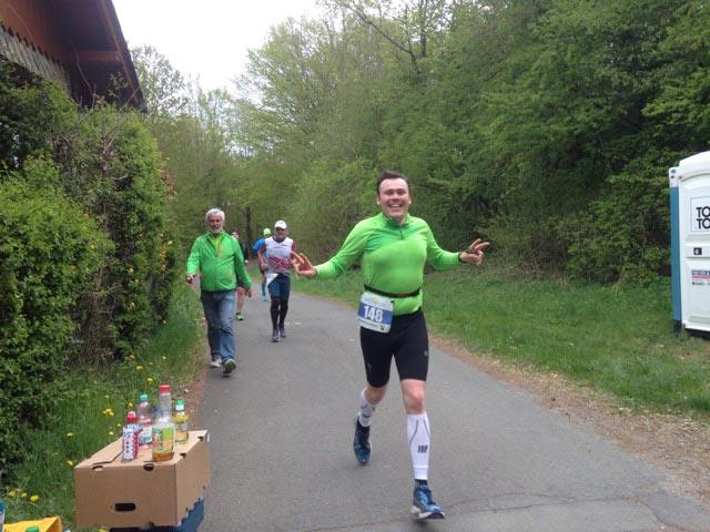 Usinger Läufer beim Weiltalmarathon im Einsatz