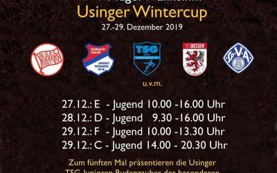 Usinger Wintercup 2019 – Jugendfußball – Ergebnisse