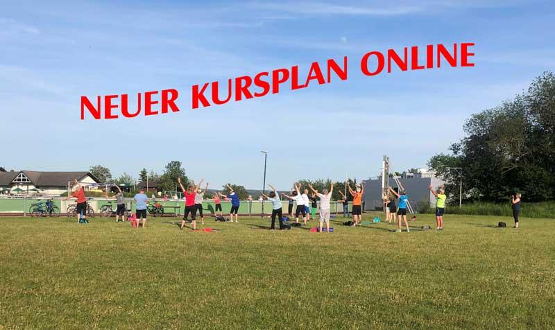 Neuer Outdoorkursplan online