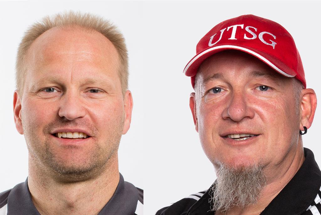 v.l. Marius Walz und Olaf Best