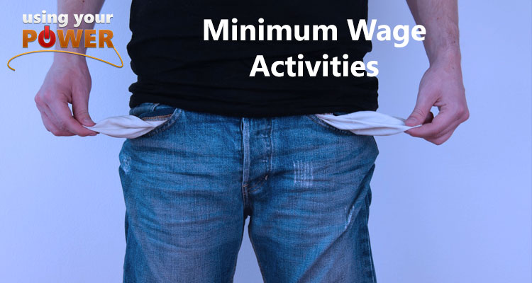 018 – Minimum Wage Activities