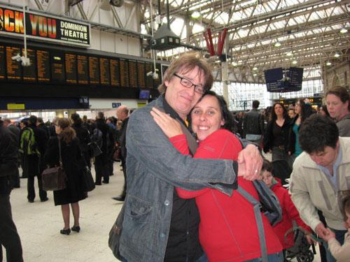 Gary & Joanne at Waterloo