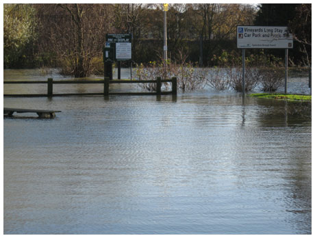 Underwater Tewkesbury