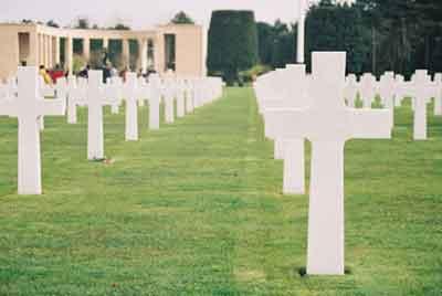 The American war cemetery