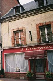 Orbecquoise restaraunt in Grande Rue, Orbec