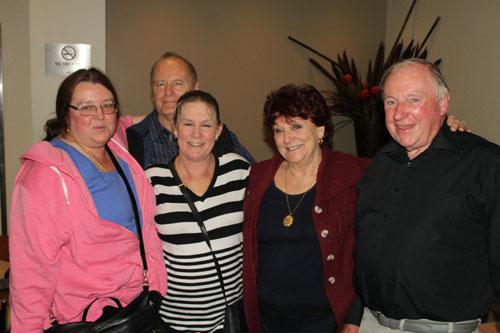 Mirinda, Ron, Donna, Janette, Bob