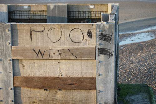 Wight graffiti