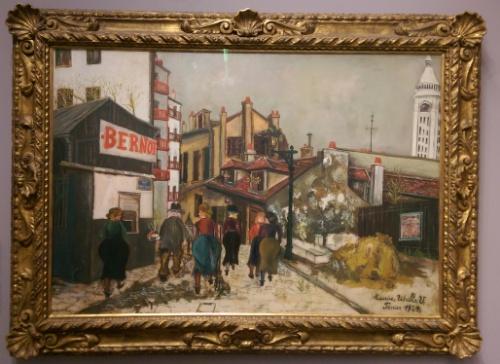 The Bernot Establishment by Maurice Utrillo (1924)