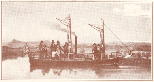 The Dalswinton Steamboat (1788)