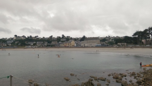 The foreshore from the Gare Maritime