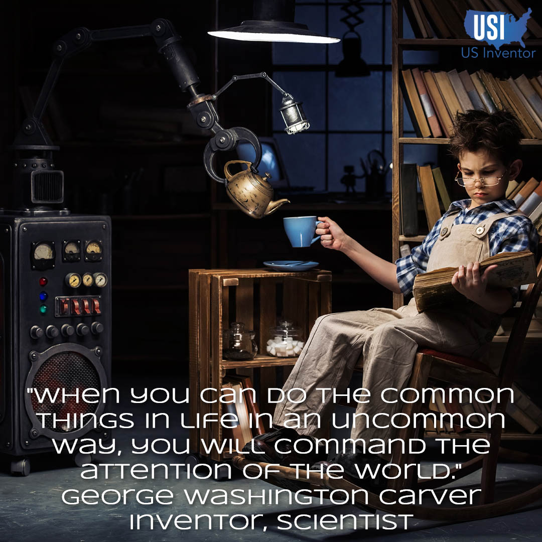 inventions - George Washington Carver - Uncommon - US Inventor