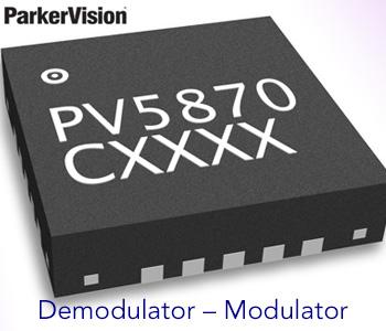 Demodulator – Modulator ParkerVision PV5870 - Jeff Parker