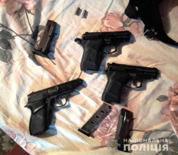 У жителя Белгорода-Днестровского нашли три пистолета и ...