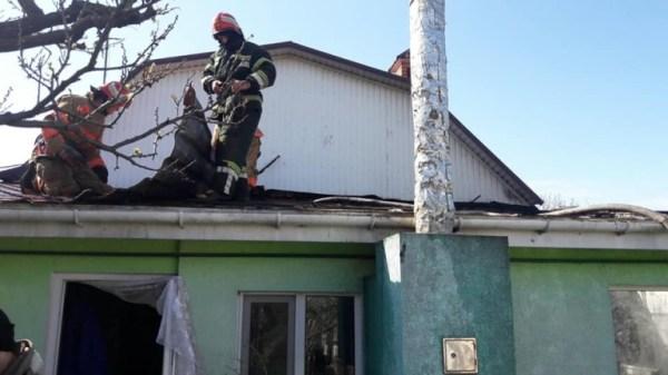 Пожар в Одесской области: загорелся дом (фото) — УСИ Online