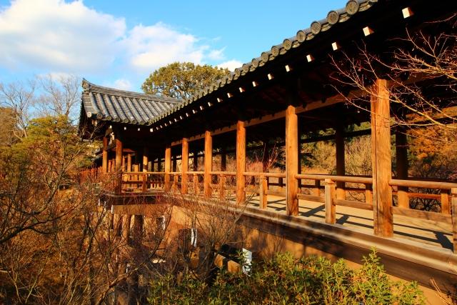 秋の京都に行くなら外せない 東福寺の紅葉を見るならライトアップで
