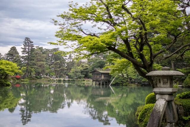金沢の兼六園の園内のコインロッカーと付近のものの場所をご紹介!