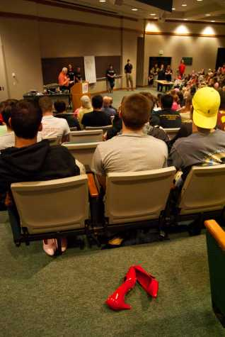 Student to encourage assault awareness at event