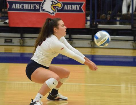 GALLERY: USI WOMEN'S VOLLEYBALL TEAM VS. CEDARVILLE UNIVERSITY